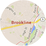 Map Brookline