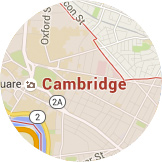Map Cambridge